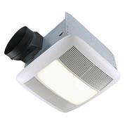 Broan Nutone 110 CFM, 0.9 Sones, Energy Star Fan/Fluorescent Light/Night-Light. CA only — Title 24 Compliant. QTXEN110FLT