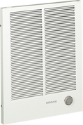 Broan 192 Nutone Wall Heater, 1000/2000W 240VAC, 750/1500W 208VAC. White painted grille.