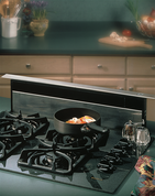 """Broan 283003 Nutone Downdraft with stainless steel cover. Designed for use with exterior mounted blowers. 28"""" wide intake fits most nominal 30"""" wide cooktops. Transition required to 10"""" rd."""