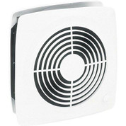 "Broan 510 10"" Fan, 380 CFM, 6.5 Sones. 13-1/2"" square plastic grille."
