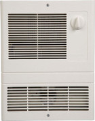 Broan Nutone 1000W Fan-Forced Wall Heater; White, 120/240 volts 9810WH