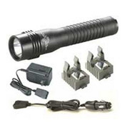 """STREAMLIGHT, INC."" 110179 Streamlight 2496838 Strion LED High Lumen Rechargeable Professional Flashlight with 120-Volt AC/12-Volt DC Charger and 2-Holders"