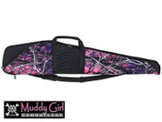 190863 Bulldog Cases Pinnacle Rifle Muddy Girl Camo w/BlackTrim & Leather 48""