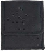 190848 Bulldog Cases Black Nylon Vertical Phone Holster w/Belt Loop/Clip