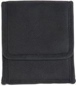 190848 Bulldog Cases Black Nylon Vertical Phone Holster w/Belt Loop/Clip