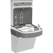 Elkay LZSDWSSK EZH2O Water Bottle Refilling Station, Single, Non Refrigerated, Filtered, Stainless
