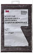 3M MMM37447 Scotch-Brite HP-HP Non-Woven Aluminum Oxide Hand Pad - Very Fine Grade - 6 in Width x 9 in Length - Package Type: 3 Pack - 37447 [PRICE is per PACK].