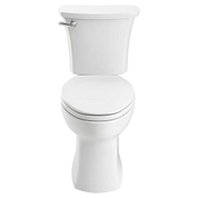 American Standard 204AB.104.020 Edgemere Right Height Elongated 10-Inch Rough-In Toilet White 204AB104020