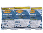 Broan 391 Nutone Replacement Bags for Central Vac, Set of 3 Six Gallon Bags 391 .