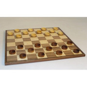 "15"" Wood Checker Set"