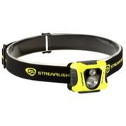 """STREAMLIGHT, INC."" STL61420 Streamlight Enduro Pro -Includes 3 AAA Alkaline Batteries, Elastic Headstrap & Yellow Fascia - Clam - 200 Lumens."