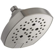 Delta D52663SS Universal Showering Components 5-Setting H2Okinetic Shower Head Stainless 52663SS.