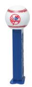 12-Packs of MLB Pez Candy Dispenser - Yankees New York Yankees PEZBBNYY12