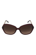 Burberry W-SG-2885 BE4193 Sunglasses 301413-57 - Bordeaux Frame, Brown Gradient
