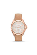 AM4532P Cecile Multifunction Sand Leather Watch W-WAT-1056 Fossil 1 Pc Watch Women