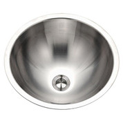 Houzer CRTO-1620-1 Opus Opus lavatory conical bowl, 6-1/4 IN D, 18 ga Single pack Stainless Steel