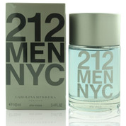 212 NYC AS21234AFTERSHAVE CAROLINA HERRERA by CAROLINA HERRERA 3.4 OZ AFTER SHAVE MEN BOX