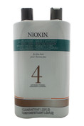 System 4 Cleanser & Scalp Therapy Conditioner Duo U-HC-10152 Nioxin 33.8 oz Cleanser & Conditioner Unisex
