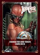 Modiphius Entertainment MUH051545 JCM: Character & Token Deck