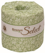 RENOWN® SELECT 2-PLY BATH TISSUE, 500 SHEETS PER ROLL, 80 ROLLS PER CASE REN06148-WB
