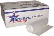 RENOWN® CAN LINER 20X22 7GL 6MIC NATURAL 50/RL 40RL/CS REN10700-CA