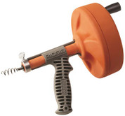 RIDGID KWIK-SPIN HAND SPINNER WITH C-1IC BULB AUGER CABLE, 1/4 IN. X 25 FT. 813339