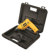 "DeWALT 3/8"" VSR Pistol Grip Drill Kit, DWD110K, 8 Amps, 650W, 0-2500 RPM, Single Gear Reduction"