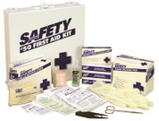 """""""ERB INDUSTRIES, INC."""" 871141 ERB INDUSTRIES, INC. FIRST AID KIT 50 PERSON FIRST AID KIT 50 PERSONTough plastic case. Exceed"""