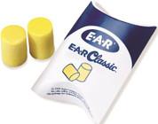3M 295850  Single Use Classic Cylinder Shape PVC Foam Uncorded Earplugs (1 Pair Per Pillow Pack, 200 Pair Per Box) (200/PR)