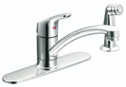 CLEVELAND FAUCET GROUP BAYSTONE KITCHEN FAUCET WITH SIDE SPRAY CHROME 103852