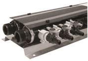 ZURN QPPM10 MANIFOLD 10 PORT ASSEMBLED MANIFOLD 10 PORT ASSEMBLED| Assembled with One Ho