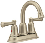 CLEVELAND FAUCET GROUP CAPSTONE TWO HANDLE HIGH ARC LAVATORY FAUCET LESS POP-UP, BRUSHED NICKEL 290880