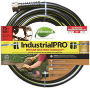 Swan 2490589 Element ELIH58075 Industrial/Home Lead Free, Kink Resistant 5/8-Inch-by-75-Foot Garden Hose, Grey