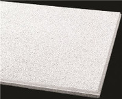 ARMSTRONG® ACOUSTICAL CEILING TILE 589B CIRRUS HUMIGUARD PLUS BEVELED TEGULAR, 24X24X3/4 IN., 12 PER CASE 296357