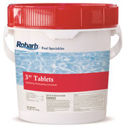ROBARB™ CHLORINE STICKS WITH TRICHLORO-S-TRIZENITRONE, 12 IN., 50-POUND PAIL 900502