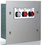 108D10C CONTROL PANEL FOR DC VALVES WITH KEY OPERATED SWIT 107988
