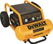 DEWALT 1.6 HP CONTINUOUS 200 PSI, 4.5 GALLON AIR COMPRESSOR 298478