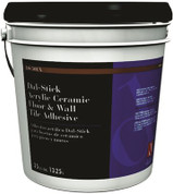 DALTILE® DAL-STICK ACRYLIC CERAMIC FLOOR & WALL TILE ADHESIVE, 3.5 GALLONS 1028349