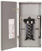 MURRAY LW1224L1125 LOAD CENTER, 12 SPACES, 24 CIRCUITS, MAIN LUG, 125 AMP 156134