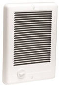 COM-PAK PLUS FAN HEATER 1500 W, 240 V, WHITE 507035
