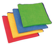 APPEAL® ANTIMICROBIAL MICROFIBER CLOTH, GREEN, 16X16 IN., 24 CLOTHS PER BOX  2471040