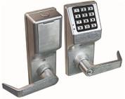 ALARM LOCK 4100 SERIES PUSH BUTTON DIGITAL KEYPAD DOOR LOCK WITH PRIVACY FUNCTION SC1 KEYWAY SATIN CHROME U022244