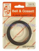 118378 RING GASKET B&G (FLANGE GASKET FOR 2NFI PUMP) (SSC B188) BELL & GOSSETT XYLEM INC 15025