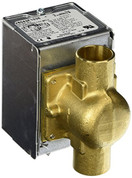 Honeywell 3277 3/4-Inch Sweat Zone Valve with Screw Terminals and End Switch.