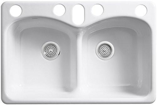 farmhouse kitchen sink faucet, wall mount kitchen sink faucet, single kitchen sink faucet, on undermount kitchen sink with faucet