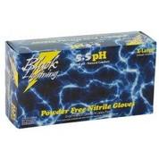 Black Lightning XXLarge Black Nitrile Gloves BLGBL-XXL