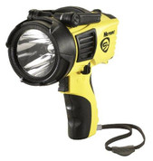 """STREAMLIGHT, INC."" STL44910 Streamlight 44910 Waypoint 1000 Lumens Spotlight with 120-volt AC Charger, Yellow"