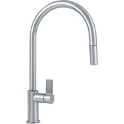 Franke FF3180 Ambient Single Handle Pull-Down Kitchen Faucet, Satin Nickel