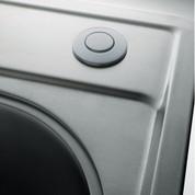 Franke WD3428SN Round Waste Disposer / Disposal Air Switch, Satin Nickel