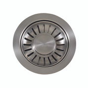 "Franke 906SN Universal 3 1/2"" Pop-up Sink Strainer Basket Lever, Satin Nickel"